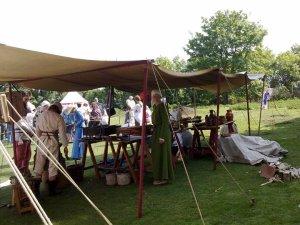 A Cardiff Castle Garrison living history encampment