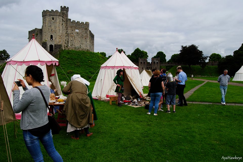 Show report: Grand Medieval Melee at Cardiff Castle – 13th & 14th August