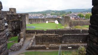 View of the camp from the Inner Gatehouse
