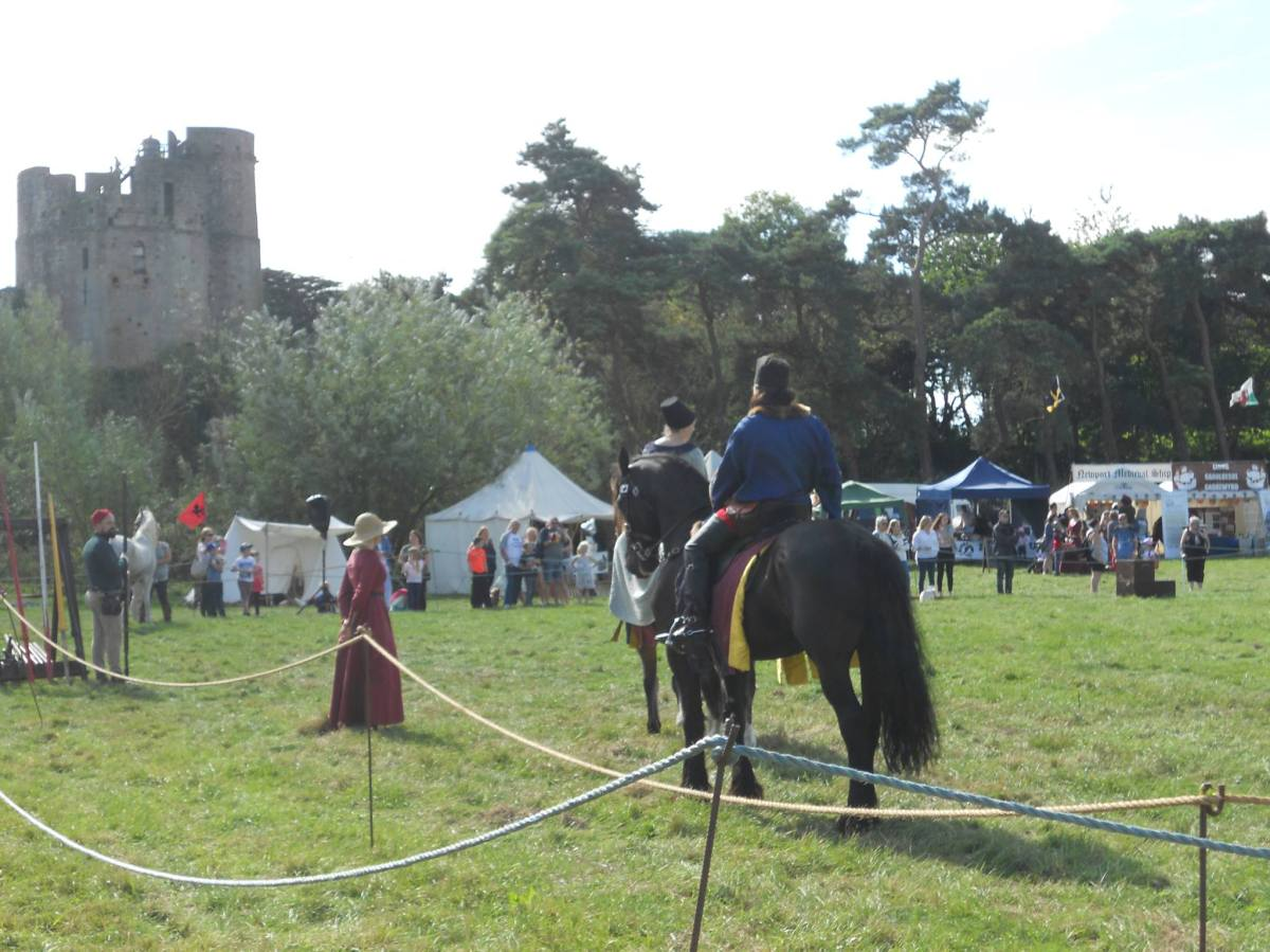 Show report: Caldicot Castle Medieval Weekend – 17th & 18thSeptember