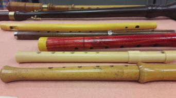 Closer look at various wind instruments